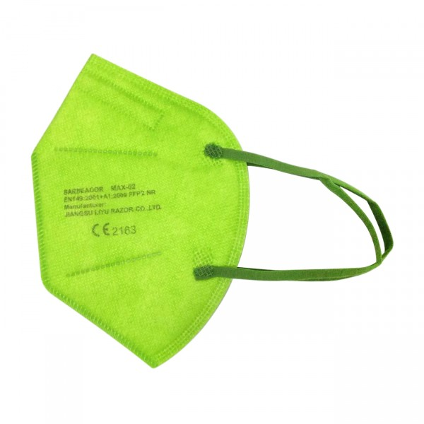 Mascarilla FFP2 (caja de 20 Uds) - Verde