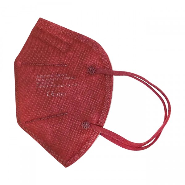 Mascarilla FFP2 (caja de 20 Uds) - Rojo