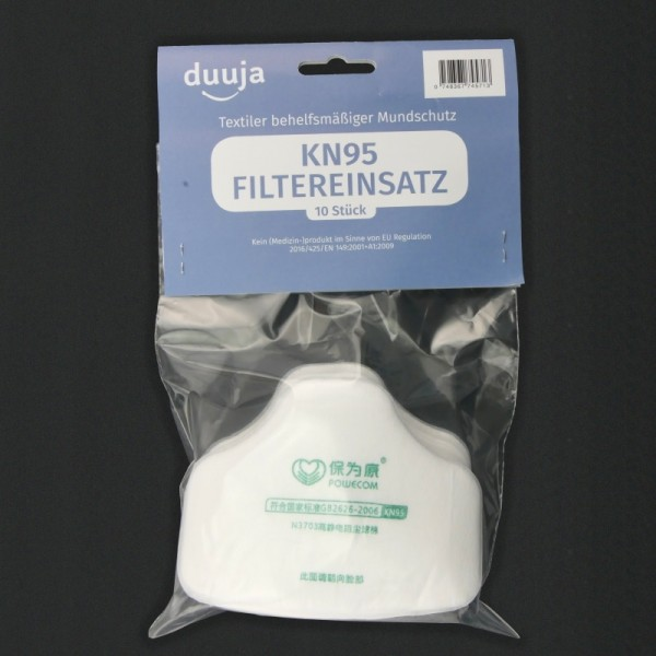 Filtro KN95 (pack de 10 unidades)